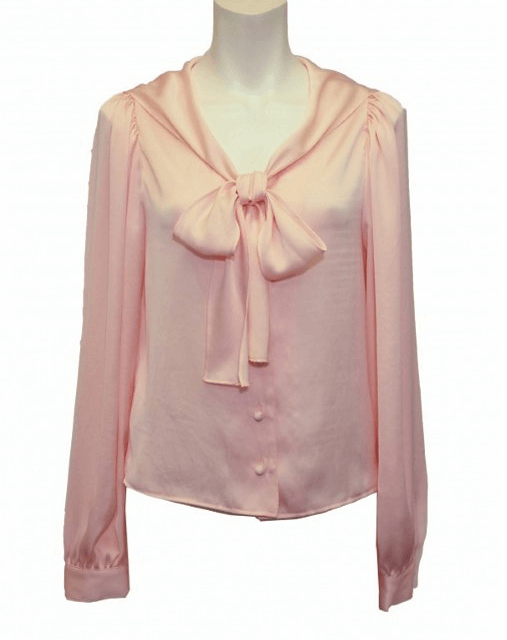 Honey mi Honey satin sailor ribbonblouse