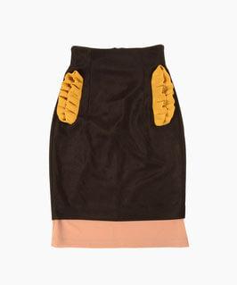 NAIFE Frill pocket skirt