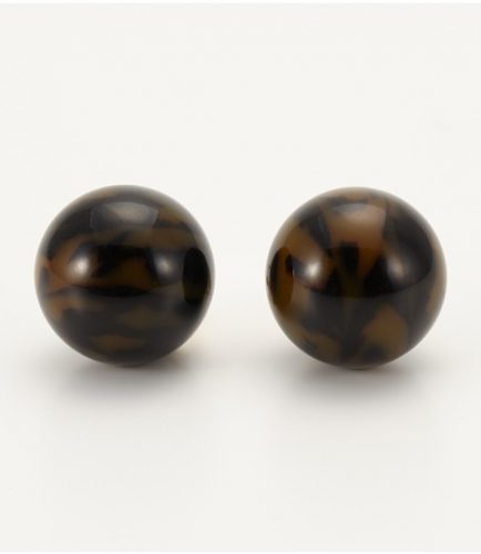 SLY MARBLE BALL EARRING