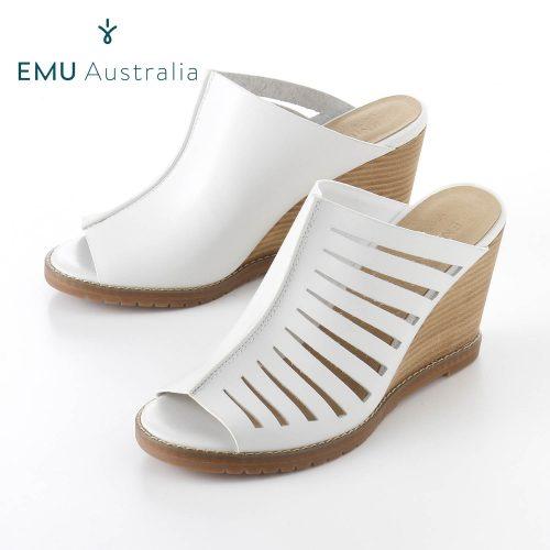 EMU Australia BOHENA レザーカットワークミュール
