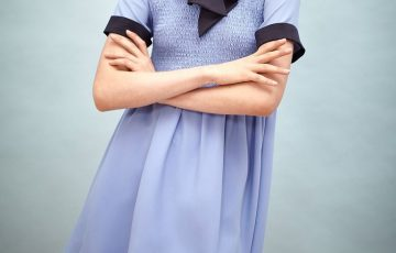 Sister Jane Bombay Blue Smock Dress