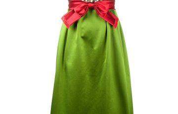 GUCCI フラワー装飾 イブニングドレス