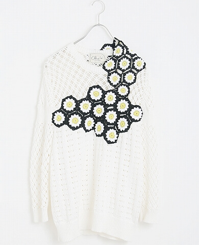 RYOTAMURAKAMI flower knit