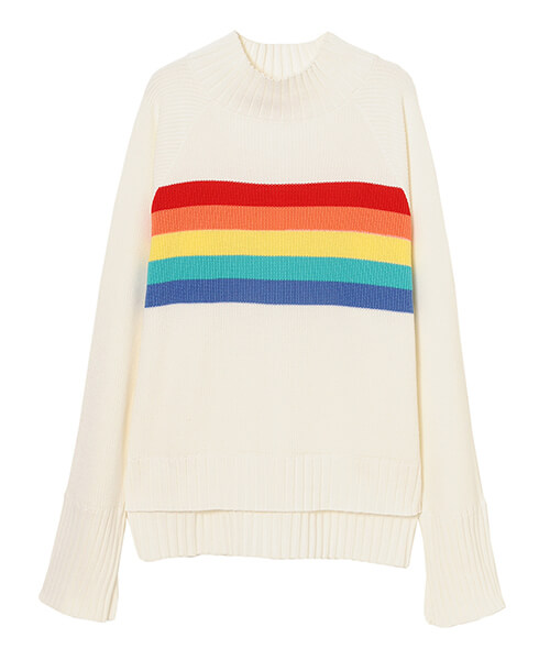 Candy Stripper OVER THE RAINBOW KNIT