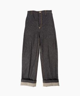 NAIFE Side tucked pants