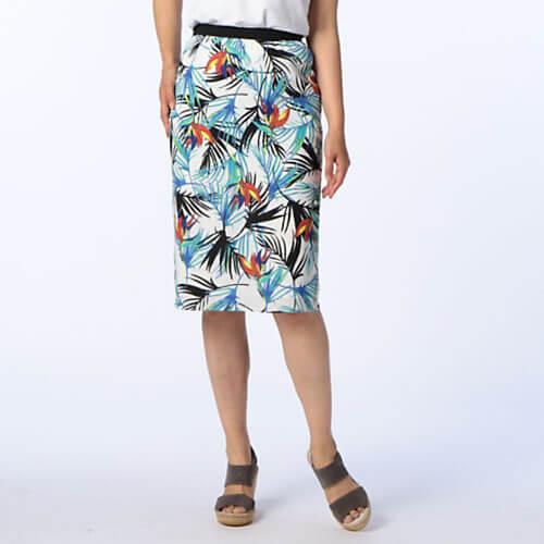 NOLLEY'S sophi ボタニカルプリントスカート