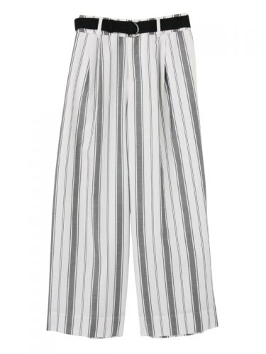 ELENDEEK SASH STRIPE PANTS