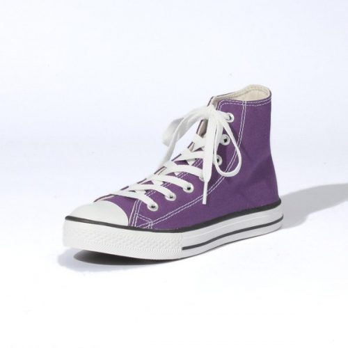 CONVERSE CANVAS ALL STAR COLORS EVO HI(パープル)