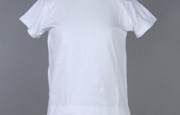 Tu es mon TRESOR Shoulder ride fur pompon T-shirt