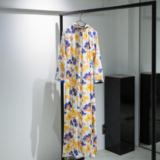 LUIK vintage flower pattern dress