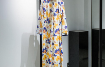 LUIK vintage flower pattern dress
