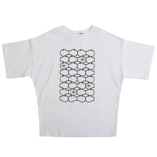 sakayori. × rsc products ボクシンググローブTシャツ
