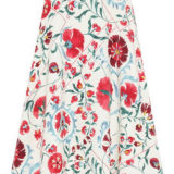 Lily Brown オリエンタル花柄スカート