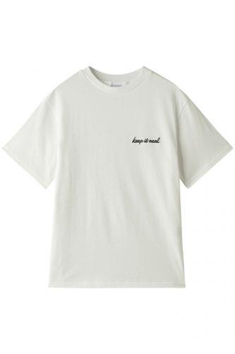 LE CIEL BLEU エンブロイダリーTシャツ