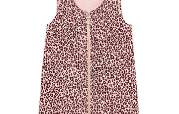 Candy Stripper GLUM LEOPARD JUMPER SKIRT