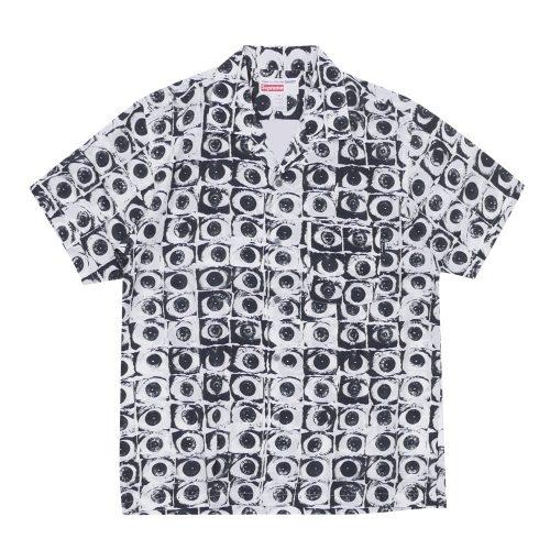 SUPREME x COMME des GARCONS Eyes Rayon Shirt