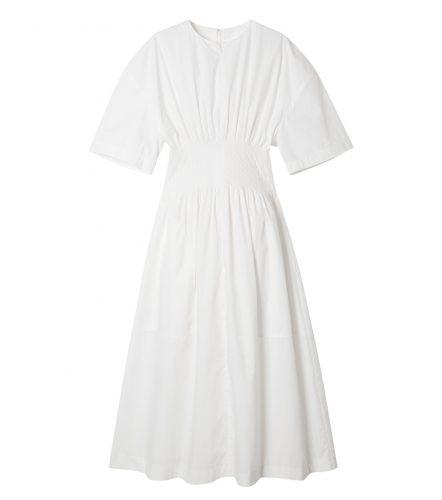 LE CIEL BLEU ラウンドフォームサマードレス