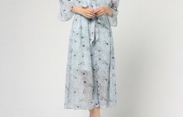 MOUSSY LINE FLOWER SHIRT ドレス