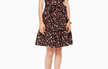 kate spade new york MA CHERIE BOHO FLORAL SHIRTDRESS