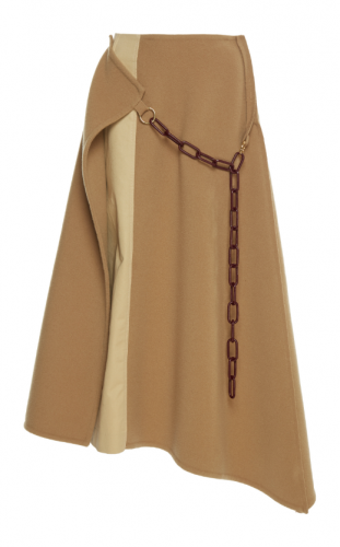 Loewe Double Face Chain Skirt