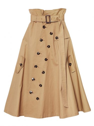 Ameri VINTAGE TRENCH LIKE SKIRT