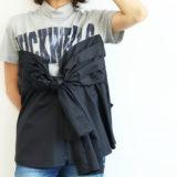 REKISAMI 胸くくりTシャツ(グレー)
