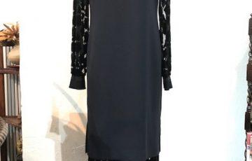 LOKITHO ベルベットレースドレス