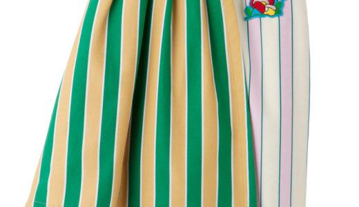【ダウンタウンDX】島崎遥香(ぱるる)の衣装(ストライプスカート・レースブラウス)【1月25日】