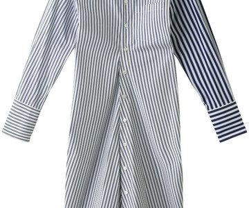 【ヒルナンデス!】飯豊まりえの衣装(ストライプシャツ&ブルーのスカート)【1月18日】