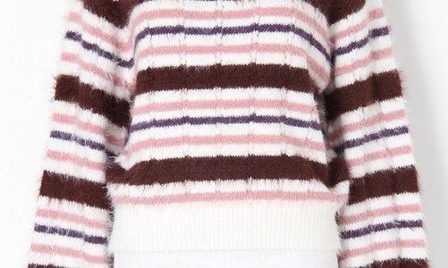 【ダウンタウンDX】辻希美の衣装ブランドは?(ボーダーニット・ピンクのスカート)【2月15日】