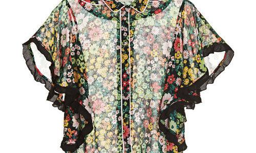 【行列のできる法律相談所 4/1】浜辺美波の衣装(花柄ブラウス・パンツ)のブランドは?