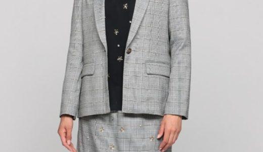 【TOKIOカケル 5/9】松岡茉優の衣装(チェックジャケット&スカート)のブランドは?
