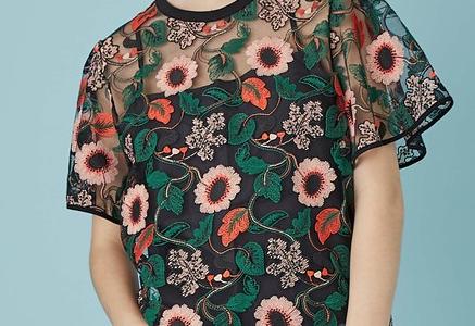 【シューイチ 6/10】スザンヌの衣装(刺繍ブラウス・デニムスカート)のブランドは?